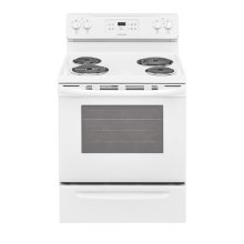 GREAT DEAL- BRAND NEW FLOOR MODEL Frigidaire 30'' Electric COIL BURNER Range / MODEL FFEF3016TW / FULL WARRANTY
