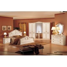Modrest Rossella Italian Traditional Complete Bedroom Set