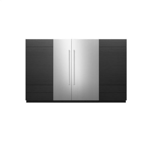"""Jenn-Air® 36"""" Panel Kit - Right Swing (Pro-Style® Stainless) - Pro Style Stainless"""