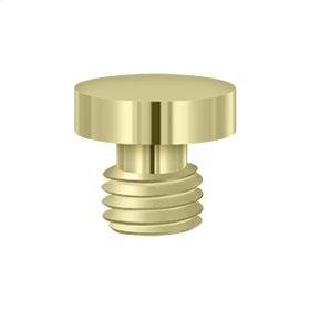 Button Tip - Unlacquered Brass