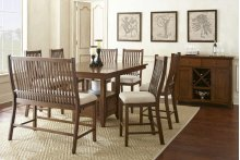 "Kayan Counter Bench,43""x23""x46"""