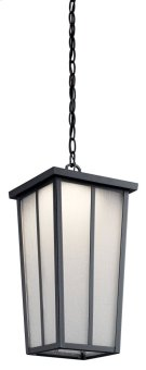 """Amber Valley 8.5"""" 1 Light LED Pendant Textured Black Product Image"""