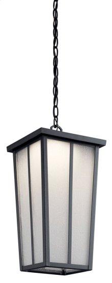"Amber Valley 8.5"" 1 Light LED Pendant Textured Black"