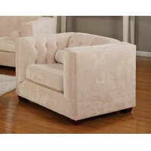 Alexis Transitional Almond Chair