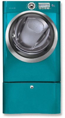 Electric Front Load Dryer with Wave-Touch Controls Featuring Perfect Steam