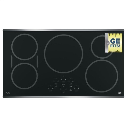 """GE Profile™ 36"""" Built-In Touch Control Induction Cooktop"""