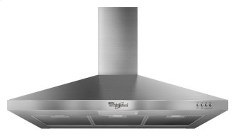 Whirlpool Gold(R) 36-inch Vented ENERGY STAR(R) Qualified 300-CFM Wall-Mount Canopy Hood