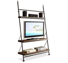 Camden Town Leaning TV Stand Hampton Road Ash finish