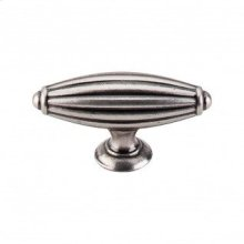 Tuscany T-Handle 2 7/8 Inch - Pewter Antique