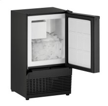 """14"""" Crescent Ice Maker Black Solid Field Reversible"""