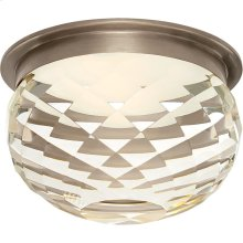 Visual Comfort S7000AN-CG Studio Hillam LED 6 inch Antique Nickel Flush Mount Ceiling Light