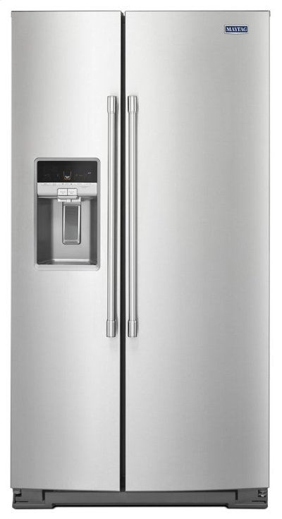 36- Inch Wide Counter Depth Side-by-Side Refrigerator- 21 Cu. Ft. Product Image