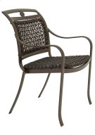 Palladian Woven Stacking Dining Chair Product Image