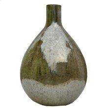 "75122  D11.5x16"" Glass Vase 2EA/CTN"