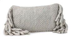 Afrino Wool Grey Pillow Product Image