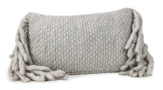 Afrino Wool Grey Pillow Product Image