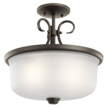 Bixler Collection Bixler 2 Light Pendant /Semi Flush OZ