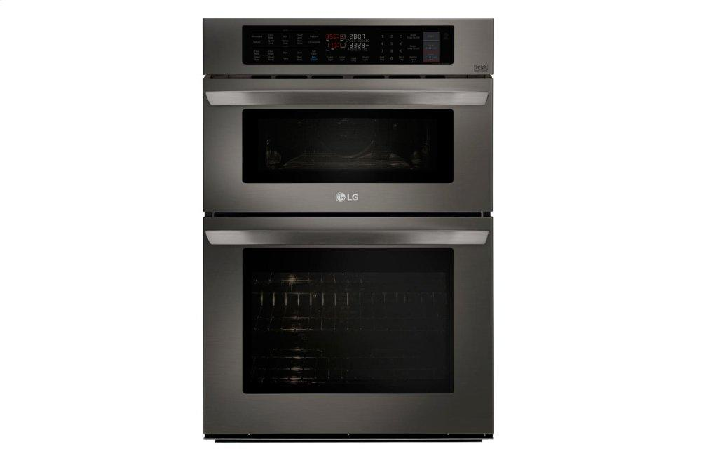 LG Appliances1.7/4.7 Cu. Ft. Smart Wi-Fi Enabled Combination Double Wall Oven