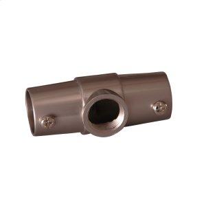 Shower Rod Ceiling Tee - Polished Chrome Product Image