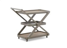 Urban Retreat Serving Cart for Outdoor