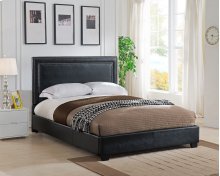 Banff Platform Bed - Queen, Black