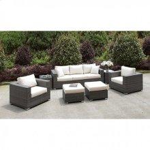 Somani Sofa + 2 Chairs + 2 End Tables + 2 Small Ottomans