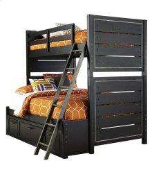 Graphite Bunk Bed Rails