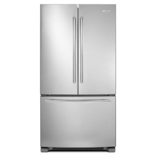 """Stainless Steel Jenn-Air® 69"""" Counter-Depth, French Door Refrigerator with Internal Water/Ice Dispensers"""