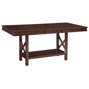 Ashley FurnitureSIGNATURE DESIGN BY ASHLEYRECT DRM Counter EXT Table