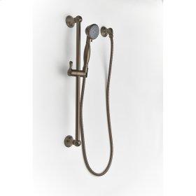 Slide Bar with Hand Shower Berea (series 11) Bronze