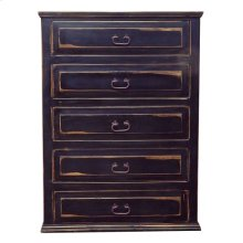 Stone Brown Econo 5 Dwr Chest