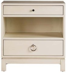 Tomlin Two Drawer Nightstand