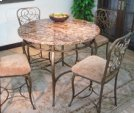 Vintage Garden Gathering Table Top & Base Product Image