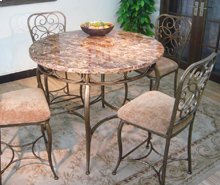 Vintage Garden Gathering Table Top & Base