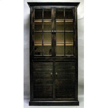"#609 Nantucket 2 Door Cupboard 40""wx13.75""dx78""h"