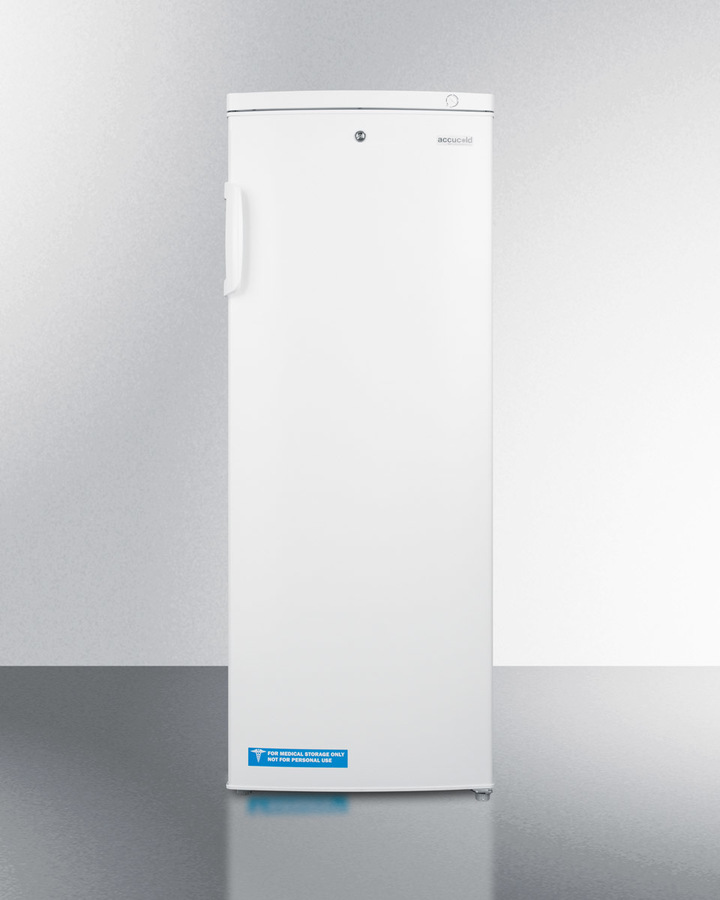 Summitslim Upright Manual Defrost All Freezer With Lock For General Purpose Use