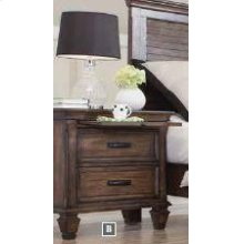 Franco Two-drawer Nightstand With Tray