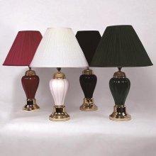 "26"" Porcelain Lamp, Bk-12/ctn"