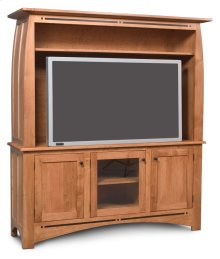 Aspen 2-Piece Widescreen Center with Inlay