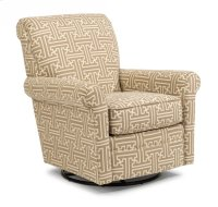 Plaza Fabric Swivel Glider without Nailhead Trim Product Image