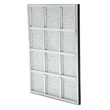 Rectangular Crystal Wall Decor
