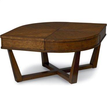 Lora Lift-Top Tear Drop Coffee Table