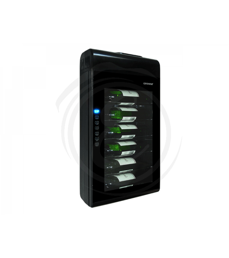 Vinotemp Cavanova 6 Bottle Thermoelectric Wall Mounted Wine Cooler