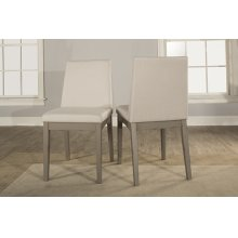 Clarion Upholstered Dining Chairs - Set of 2 - Distressed Gray
