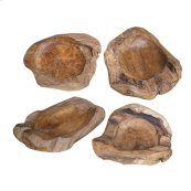 Weathered Wood Fruit Bowl Large