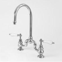 Sancerre Bridge Kitchen or Bar Faucet with 485 Handle
