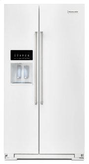 24.8 Cu. Ft. Standard Depth Side-by-Side Refrigerator with Exterior Ice and Water - Stainless Steel Product Image