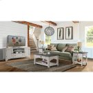 Grand Haven - Small Coffee Table - Feathered White/rich Charcoal Finish Product Image