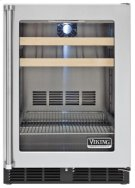 """24"""" Beverage Center, Clear Glass, Right Hinge/Left Handle Product Image"""