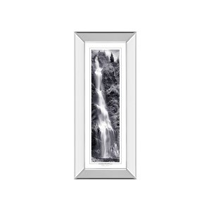 Chasing Waterfall By Mike Jones (mirrored Frame)